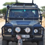 Ian and our Safari Truck